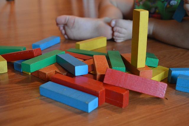 dřevěné bloky