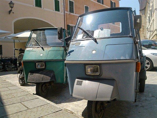 italské piaggio