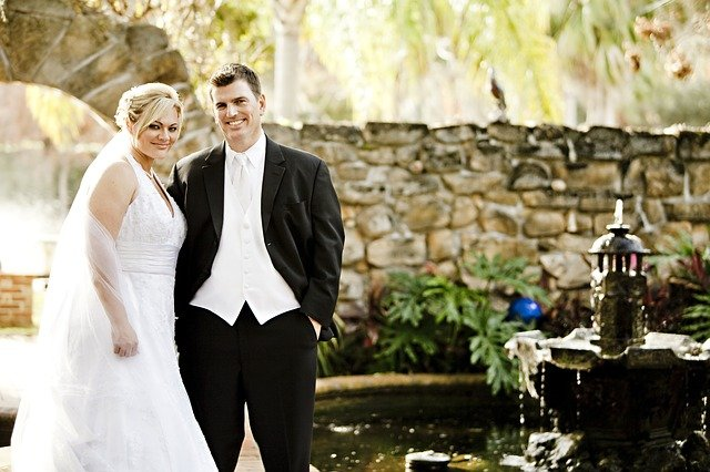 foto novomanželů