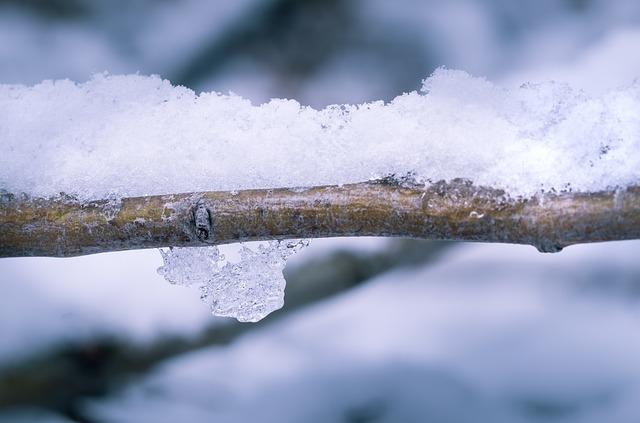 sněhová přikrývka