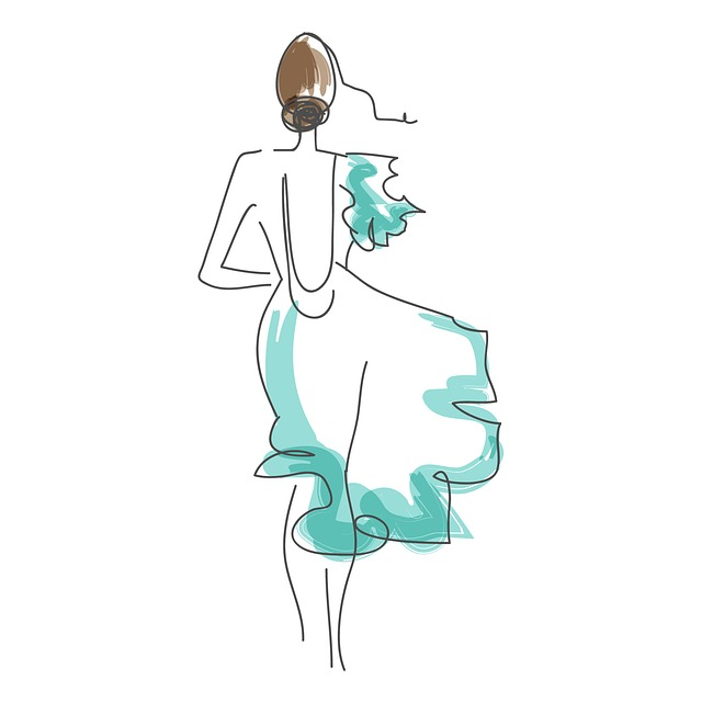 módní skica