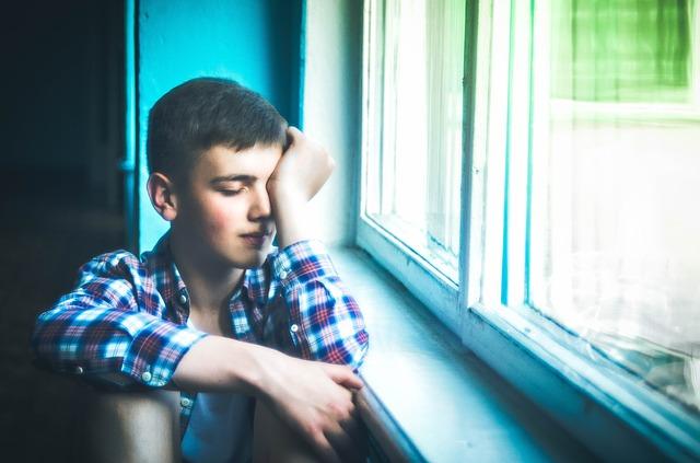 kluk u okna