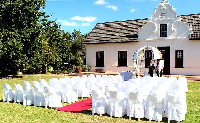 příprava na svatbu