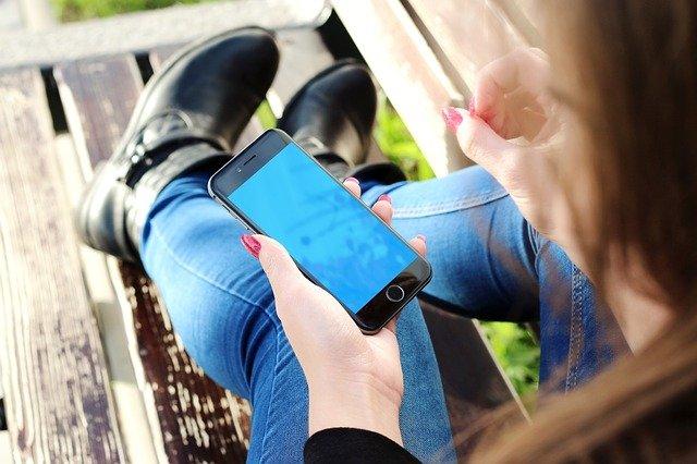 iphone dívky